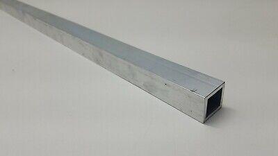 6063 Aluminum Tube 1 Square 18 Walls 36 Long Hollow