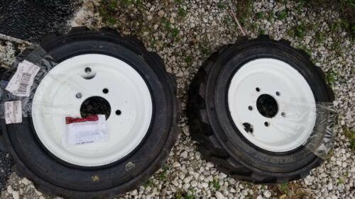 23x8.50-12 Solid 12 Ply Tire Rim 5 Lug Forklift Skid Steer Tires & Rim NashLift