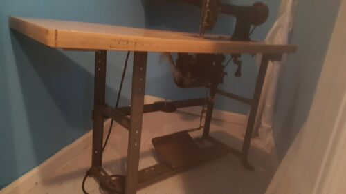 Cornely-A Embroidery Machine with working motor and Table.