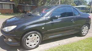 2004 Peugeot 206 Convertible with 1 year rego Taren Point Sutherland Area Preview