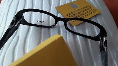 FENDI Brillengestell für Damen - schwarz, elegant und trendy
