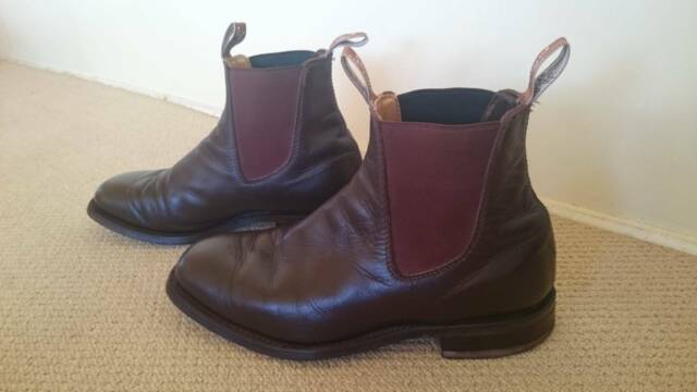 Rm Williams Tambo Boots Size 9 5 Men S Shoes Gumtree
