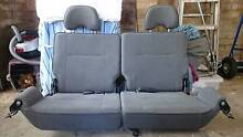 NISSAN PATROL GU Y61 REAR PAIR of 3rd row cargo passenger seats Forestville Warringah Area Preview