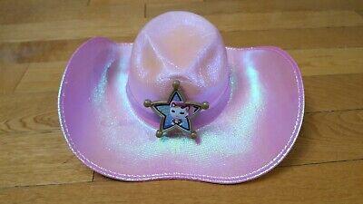 Disney Jr Halloween Costumes (DISNEY JR Sheriff Callie PINK COWGIRL HAT COSTUME ACCESSORY DRESS)