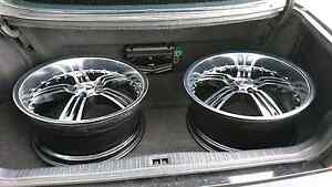 "Near new Lenso OP2 vip staggered deepdish wheels 20""8.5x9.5 $700 Liverpool Liverpool Area Preview"