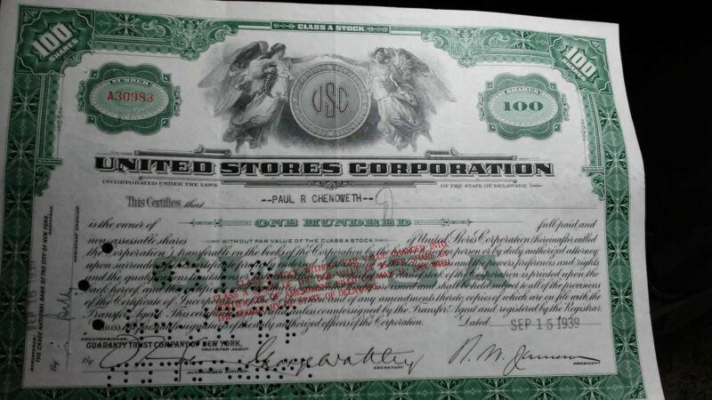 Faberge Stock certificate Ryette 1960s State of Minnesota Inc.