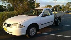 2000 Ford Falcon ALLOY TRAY 5 SPD JULY-2017 REGO GOOD CLUTCH Ute Sylvania Sutherland Area Preview