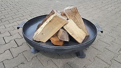 Feuerschale Ø 80 cm FEUERKORB PFLANZSCHALE GARTEN KLÖPPERBODEN