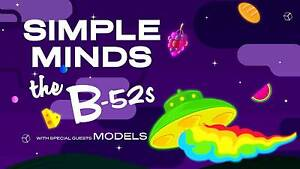 A Day On The Green (VIC) | Simple Minds, B-52s, Models Melbourne CBD Melbourne City Preview