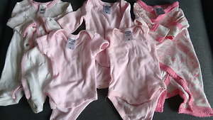 5 x Tiny Baby 00000 onesies Graceville Brisbane South West Preview