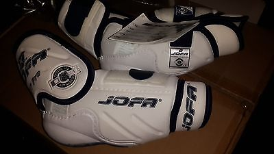 Brand New pro stock NHL Jofa 9177 Pro hockey elbow pads. Size 6. Made in Sweden