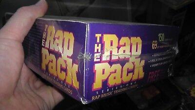 PREMIER RAP PACK TRADING CARDS BOX 36 Packs 10 Cards 1 Sticker Hip Hop Music NEW