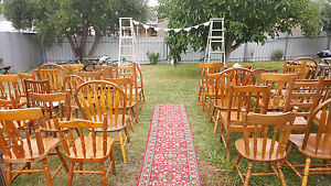 Complete vintage/rustic ceremony package Modbury Tea Tree Gully Area Preview