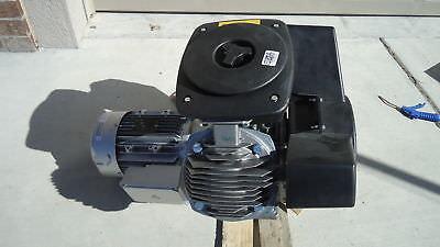 Atlas Copco Lf3-10s Lf3-10 3hp Oil Free Aluminum Piston Compressor Pump W Motor