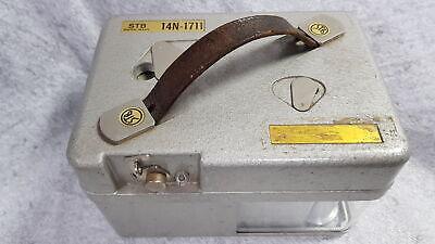 STB 14N-1711 Vintage Swiss Made Pigeon Racing Clock with Key Grade B