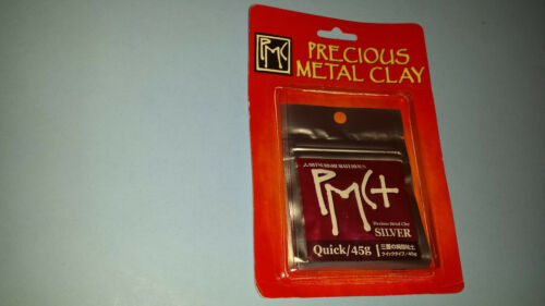Mitsubishi Materials PMC+ Precious Metal Clay Silver Quick 45g (FACTORY SEALED)
