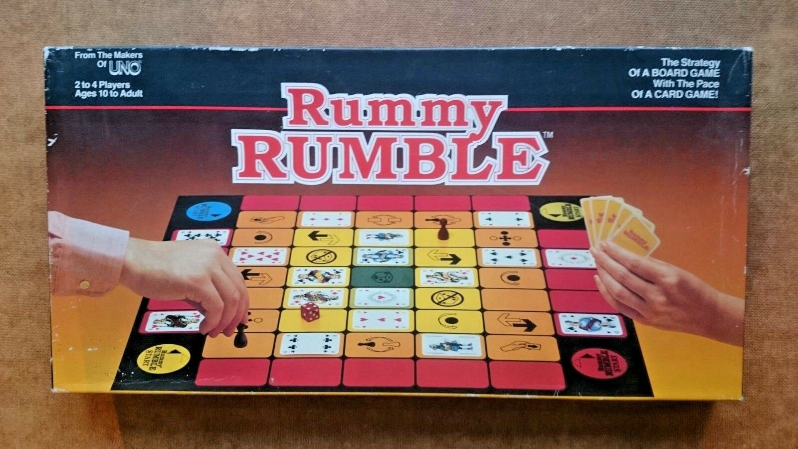 Rummy Rumble By Gibson Games 1985