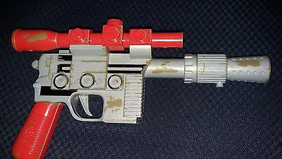 1997-Star-Wars-Deluxe-Rebel-Infantry-DL-44-Blaster-Lazer-Tag-Tiger-Rare Gray