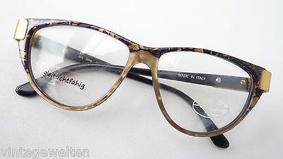 Vintage Glasses Large Butterfly Natural Tons Plastic Noble Ladies Frames SIZE (Large Frame Glasses Online)