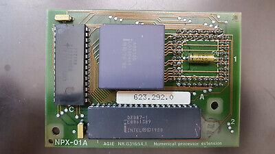 CPU Processori Intel 186 8087 NPX-01A AGIE NR.631654 Numeric processor extension