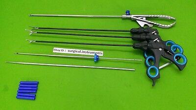 Laparoscopic Set Needle Holder 5mmx330mm Endoscopy Surgical Instruments