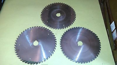 10 Carbide Tipped 50 Tooth Saw Blades For Cutting Aluminum 3 Pcs