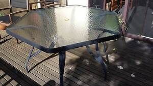 Glass top 6 seater outdoor table Mirboo North South Gippsland Preview