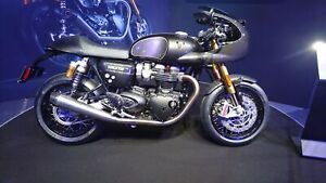 2019 Triumph Thruxton 1200 R All New TFC TRIUMPH FACTORY CUSTOMS