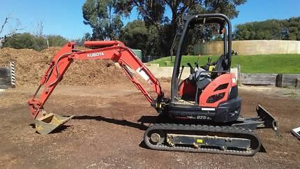 Kubota U25-3 Excavator South Guildford Swan Area Preview