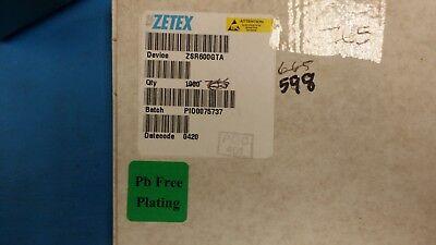 10 Pcs Zsr600gta Zetex Linear Voltage Regulators 6.0v 200ma Sot-223 Rohs