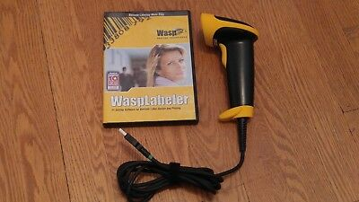 Wlr8950 Bi-color Ccd Barcode Scanner W 6ft Cable 3 Mil Resolution W Software