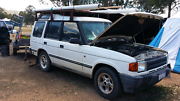 Landrover v8 auto  red p  friendly good project for first-time D Muswellbrook Muswellbrook Area Preview