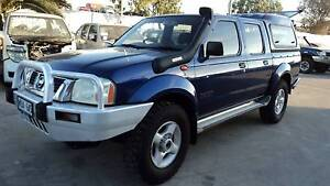 WRECKING Nissan Navara D22 ST-R...ARB CANOPY, MUD TYRES, SNORKEL Wingfield Port Adelaide Area Preview