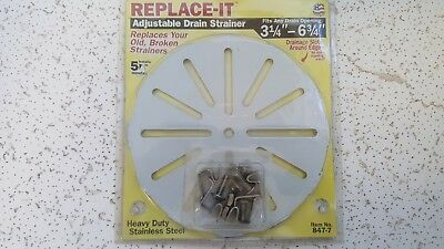 Sioux Chief Adjustable Replacement Floor Drain Strainer 3-14 To 6-34