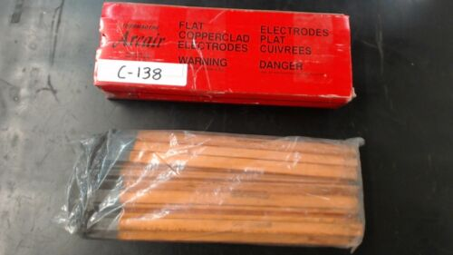 Arcair 35-033-003 Flat Copperclad Electrodes Lot of 40