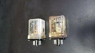 Lot of 3 42RO 2500G-SIL Sigma 8-Pin Relay