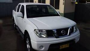 2010 Nissan Navara ST Dual Cab 4x4 ute Richmond Hawkesbury Area Preview