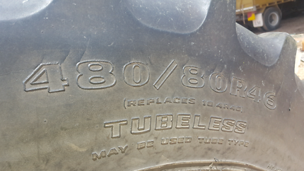 Tractor tyre 480/80R46