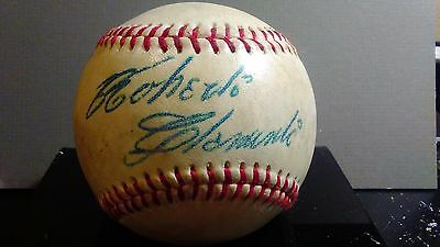 Roberto Clemente Novelty 1959 Autographed Baseball *New for Spring 2017*