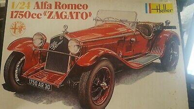 Heller 1/24 Alfa Romero 1750CC Zagato Open Box