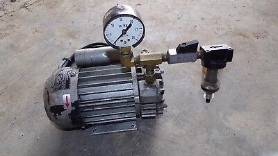 Gebr Becker D 5600 Wuppertal Electric Pump *FREE SHIPPING*