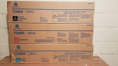 3 Konica Minolta TN 611 - B/M//C:A04P 150/ /350/450 - B Ware -3