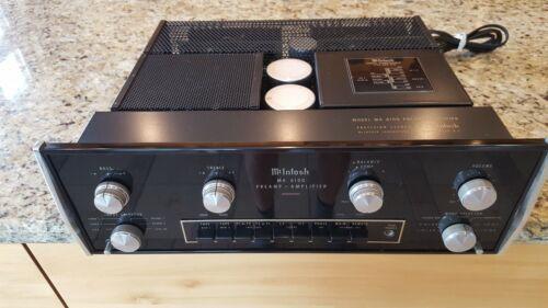 McIntosh Preamp Amplifier MA 6100