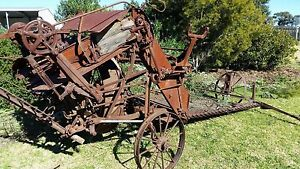 Antique McCormack Hay Baler Bairnsdale East Gippsland Preview