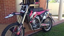 Funky pink yz250f Kin Kora Gladstone City Preview