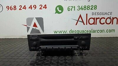 233757 SISTEMA AUDIO / RADIO CD BMW SERIE 3 BERLINA (E90) | 65126983018 segunda mano  Casillas