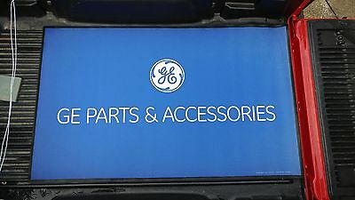 Nice New General Electric Ge Parts   Service Advertising Rubber Store Mat Sign