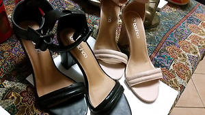 High Heel shoes bone, and  Black Glanville Port Adelaide Area Preview