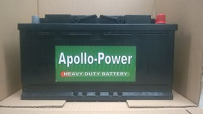 Alfa Romeo 166 All Diesel 1998 Onwards APOLLO POWER NEW CAR BATTERY