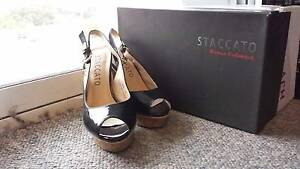 90% New Staccato Black High Heels Maroubra Eastern Suburbs Preview